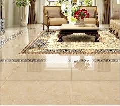 high class luxury ceramic floor tiles for living room decor with