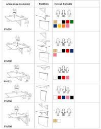si e de rabattable sobuy fwt03 w table murale rabattables table de cuisine pliante tabl
