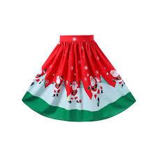 christmas skirt wholesale christmas plus size midi swing skirt 5xl online cheap