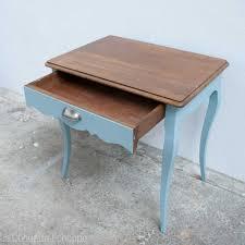 bureau enfant vintage bout de canapé ou bureau enfant vintage rénové et actualisé