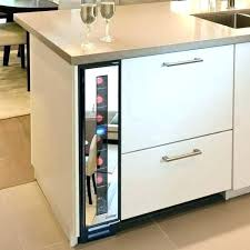 under cabinet wine cooler cabinet wine fridge full image for small under counter cooler