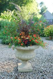 Plant Combination Ideas For Container Gardens Planting Containers For Late Summer Into Autumn Garden Foreplay
