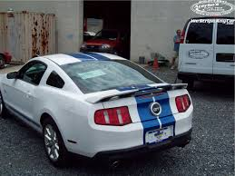 white mustang blue stripes acerbos com ford mustang graphics