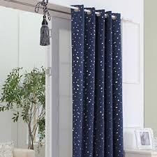Blackout Navy Curtains Outer Space Style Navy Cotton Blackout Curtains With Buy