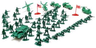 Army Flag For Sale Viahart 140 Action Figures Army Men Toy Soldier Play Set With