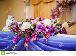wedding flowers groom decor of flowers on a table and groom stock image image of