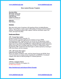 Data Analyst Resume Sample by Data Analyst Resume Sample Free Resume Example And Writing Download