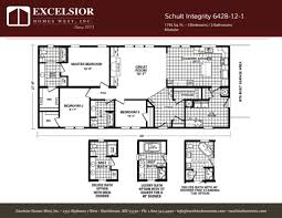 schult integrity 6428 12 1 excelsior homes west inc