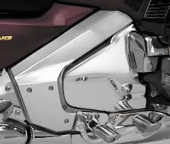 amazon com show chrome frame cover for honda gl1800 gl 1800