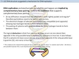 Dna Structure And Replication Worksheet Key Bioknowledgy 7 1 Dna Structure And Replication Ahl