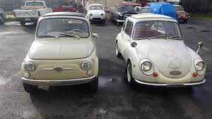 subaru 360 car fiat 500 vs subaru 360 youtube