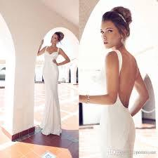 wedding dresses 2017 julie vino beach sheath sweetheart