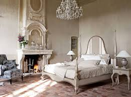 terrific rustic bedroom ideas classic fireplace artistic design