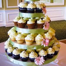 cupcake displays wedding cupcake display white buttercream with pink flowers