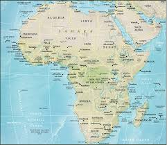 map world africa worldpress org world maps and country profiles map of africa