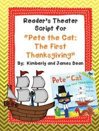 thanksgiving reader s theater pay teachers thanksgiving