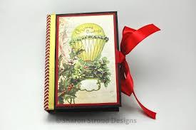 Vintage Scrapbook Album Vintage Christmas Mini Scrapbook Album Sharon Stroud Designs