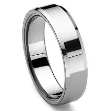 men s wedding band piattoe tungsten carbide men s wedding ring