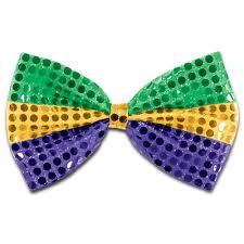 mardi gras bow sequin mardi gras bow tie 60703 ggp mardigrasoutlet
