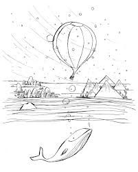 drawing prompt u2013 air balloons bobbledy books
