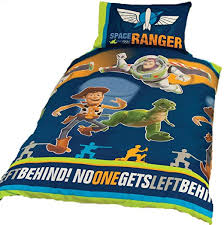 Space Single Duvet Cover Character World Toy Story 3 Space Single Rotary Duvet Set Amazon