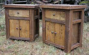 Rustic Pine Nightstand Small Pine Nightstand Plans Decorative Reclaimed Wood Nightstand