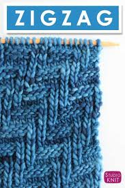 zig zag knitting stitch pattern how to knit the diagonal chevron zigzag knit stitch pattern