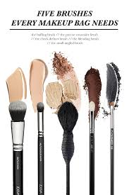 Hair And Makeup Case Five Brushes Every Makeup Bag Needs Style U0027n Stylechat Style