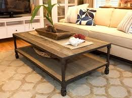 rustic table ls for living room furniture rustic living room coffee table design with roller