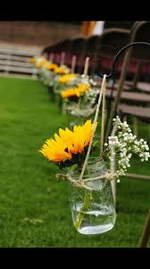 sunflower wedding decorations best 25 sunflower wedding centerpieces ideas on