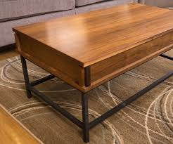 How To Build Wood End Tables by How To Make A Coffee Table With Lift Top 18 Steps With Pictures
