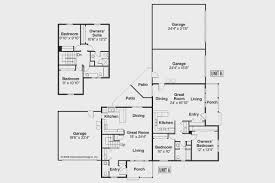 plan design view duplex floor plans with garage modern rooms