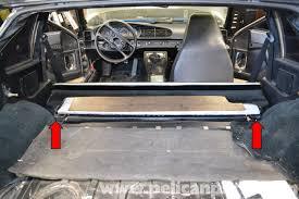 porsche 911 interior back seat porsche 944 turbo seats removal 1986 1991 pelican parts diy