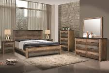 Bedroom Furniture Set Queen Rustic Bedroom Furniture Ebay