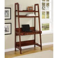 Shelf Ladder Woodworking Plans by Shop Wayfair Ca For Leaning U0026 Ladder Desks To Match Every Style