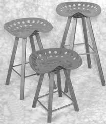 tractor seat bar stools repurposed pinterest tractor seats