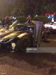 koenigsegg canada koenigsegg car accident in chongqing photos and images getty images