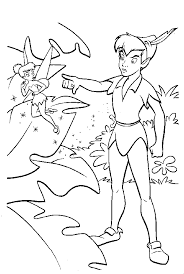 kids 7 peter pan coloring pages