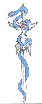 wrapped around sword meaning designs