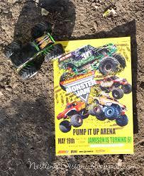 monster invitation nestling monster truck party invitations