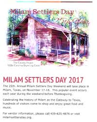 thanksgiving day org milam settlers day home