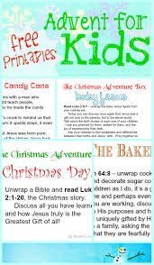 kid friendly advent printables advent activities free