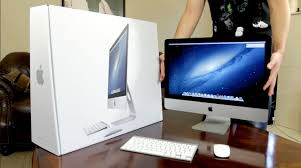 Apple Desk Computers by Apple 21 5 Inch Imac Unboxing U0026 Demo Late 2012 Youtube