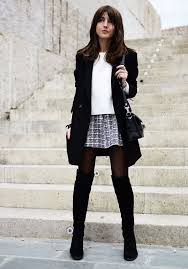 20 style tips on how to wear over the knee boots boots 2014