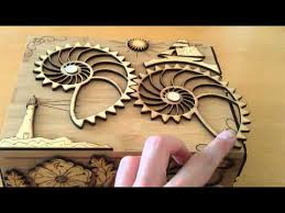 Free Wood Puzzle Box Plans by Proposal Puzzle Box Youtube