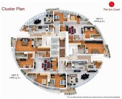 modern home interior design 2 bedroom luxury apartment floor
