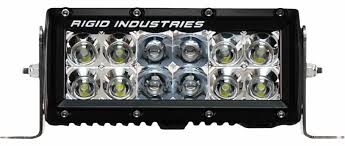 6 inch light bar amazon com rigid industries 106312 e series 6 combo spot led flood