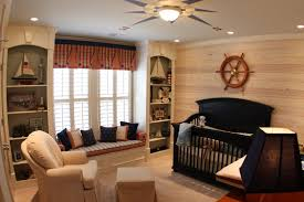 interior interactive picture of kid bedroom nautical decoration