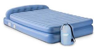 Aerobed Queen Air Mattress With Headboard by Bedroom Great Aerobeds For Portable Bed Ideas U2014 Saintlukebc Org