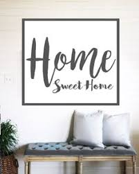 home decor wall signs be still and know fixer upper style sign wall art canvas